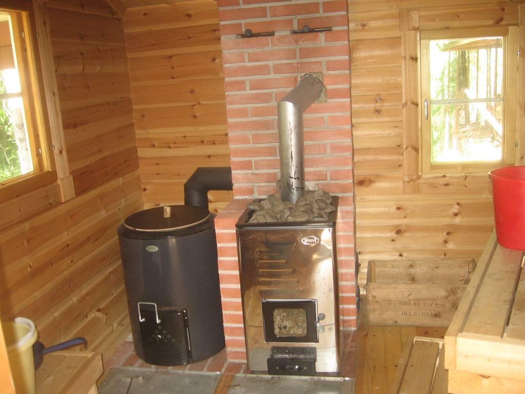 La sauna en la casa de campo del gorro del mundo - Como hacer una sauna ...