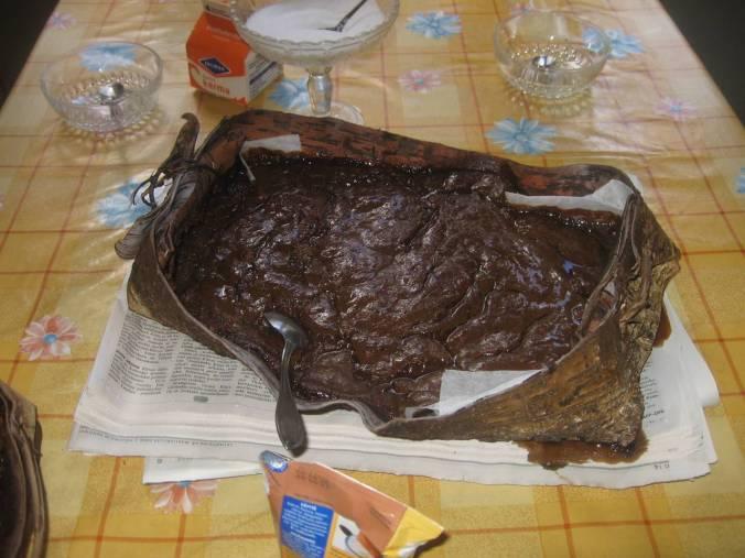 Un plato exquisito finlnadés: Mämmi